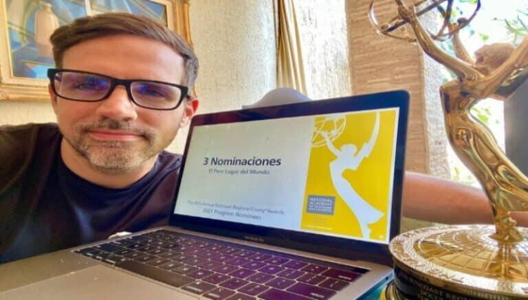 El periodista venezolano Luis Olavarrieta, recibe 3 nominaciones a los premios Emmy (+Detalles)