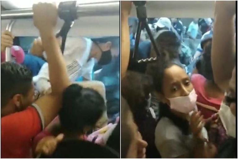 El pánico que vivieron usuarios del Metro de Caracas: Un vagón comenzó a echar humo y la gente rompió las ventanas para salir (+Video)